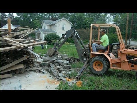 Building a Garage - Foundation
