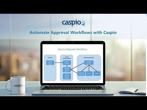 Caspio Webinar: Automate Approval Workflows with Caspio