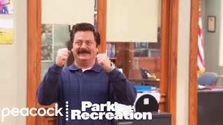 Ron Swanson Gets Jammed - Parks and Recreation