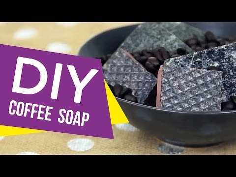 DIY: Rise & Shine Coffee Soap ∞ Trash to Fab w/ AnneorShine