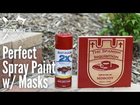 Perfect Spray Paint With Masks