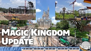 Magic Kingdom Construction & Tron Updates - June 2019 - Walt Disney World