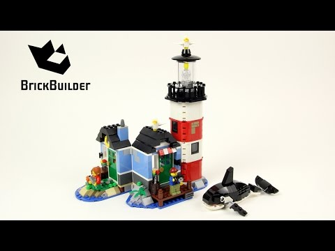 Lego Creator 31051 Lighthouse Point - Lego Speed Build