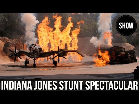 Indiana Jones Stunt Spectacular at Hollywood Studios
