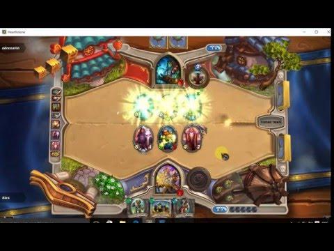 Tavern Brawl Gameplay with Priest (Hearthstone)