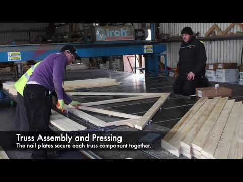 How a Roof Truss is made - Mon Timber