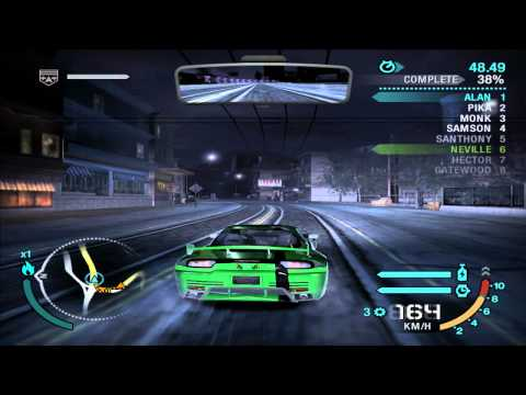 Need For Speed: Carbon - Race #16 - Dover and Lepus (Sprint)