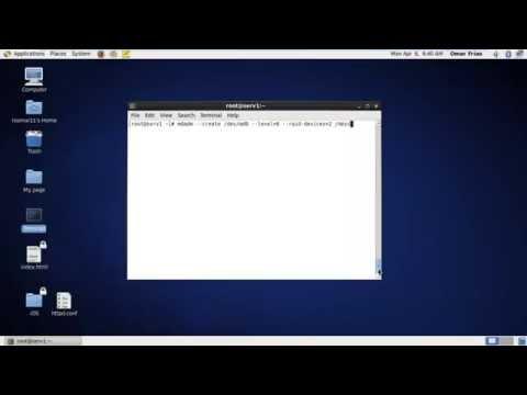 RAID (Disk Array) Linux CentOS 6.6