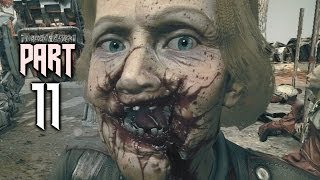 Wolfenstein The New Order Gameplay Walkthrough Part 11 includes Mission 8 of this Wolfenstein The New Order Walkthrough in 1080p HD for PS4, Xbox One, PS3, Xbox 360 and PC. This Wolfenstein The New Order Gameplay Walkthrough will include a Review, all Campaign Missions, Weapons, Enemies, Bosses, New Gameplay and the Ending of the Single Player.   Subscribe: http://www.youtube.com/subscription_center?add_user=theRadBrad Twitter: http://twitter.com//thaRadBrad Facebook: http://www.facebook.com/theRadBrad  Europe, 1946. World War II rages across Europe. Where once the Allies pressed advantage, the Nazi forces have turned the tide in dramatic fashion behind the technologically advanced war machine of General Wilhelm Strasse -- Deathshead. When a final Allied assault on Deathshead