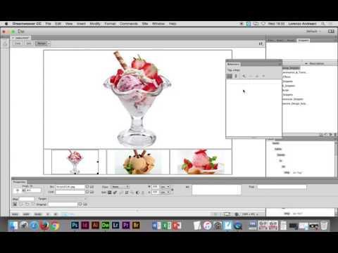 Adobe Dreamweaver CC - Creating a Gallery