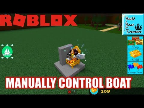 Roblox: How to MANUALLY STEER your boat in Build a Boat for Treasure