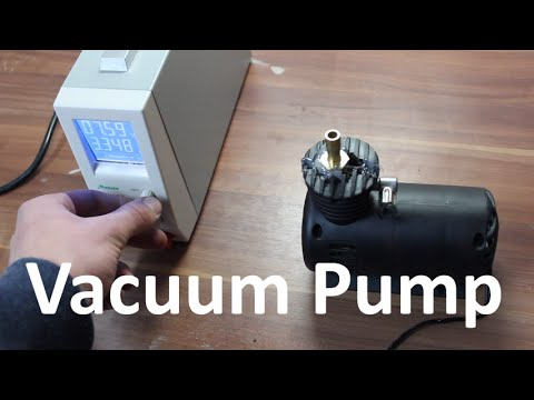 Converting a 12V Air Compressor into a Vacuum Pump