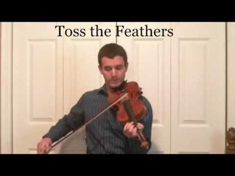 Learn How To Play Toss the Feathers on the Violin - Play in the Key of C Major