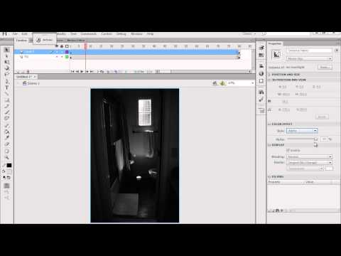 Animate a dark flickering lighting effect with Photoshop & Flash - Part 3
