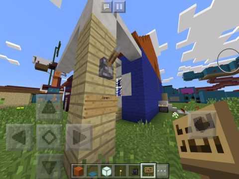 Hello Neighbor Alpha 2 House Tour Minecraft PE