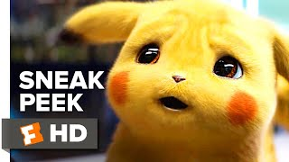 Pokémon Detective Pikachu Sneak Peek (2019) | 'What A Pikachu World' | Movieclips Trailers