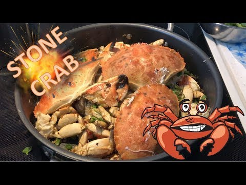 How To Clean & Cook Stone Crab Chinese Style