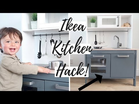 IKEA DUKTIG PLAY KITCHEN HACK DIY | TIPS AND ADVICE