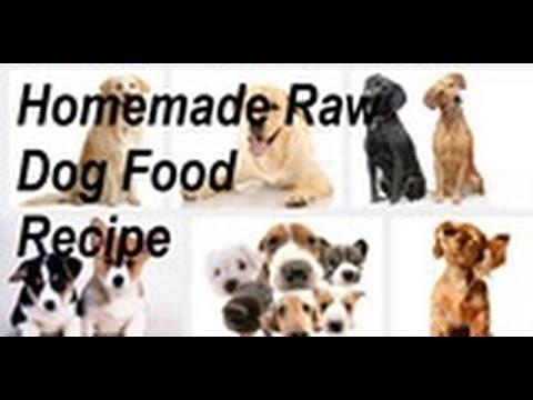 How to Make Raw Dog Food - Organic Recipe