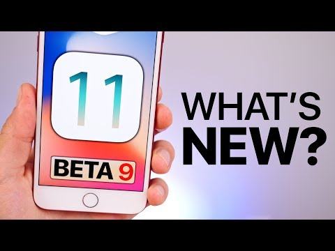 iOS 11 Beta 9 Released! What's New?