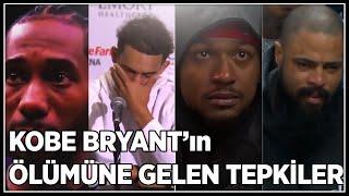 Kobe Bryant'ın Ölümüne Gelen Tepkiler(Türkçe) LeBron, Wade, Neymar, Shaq....
