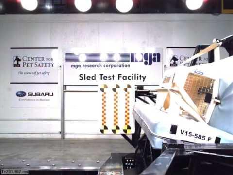 PetMate Vari Kennel Carrier Crash Test