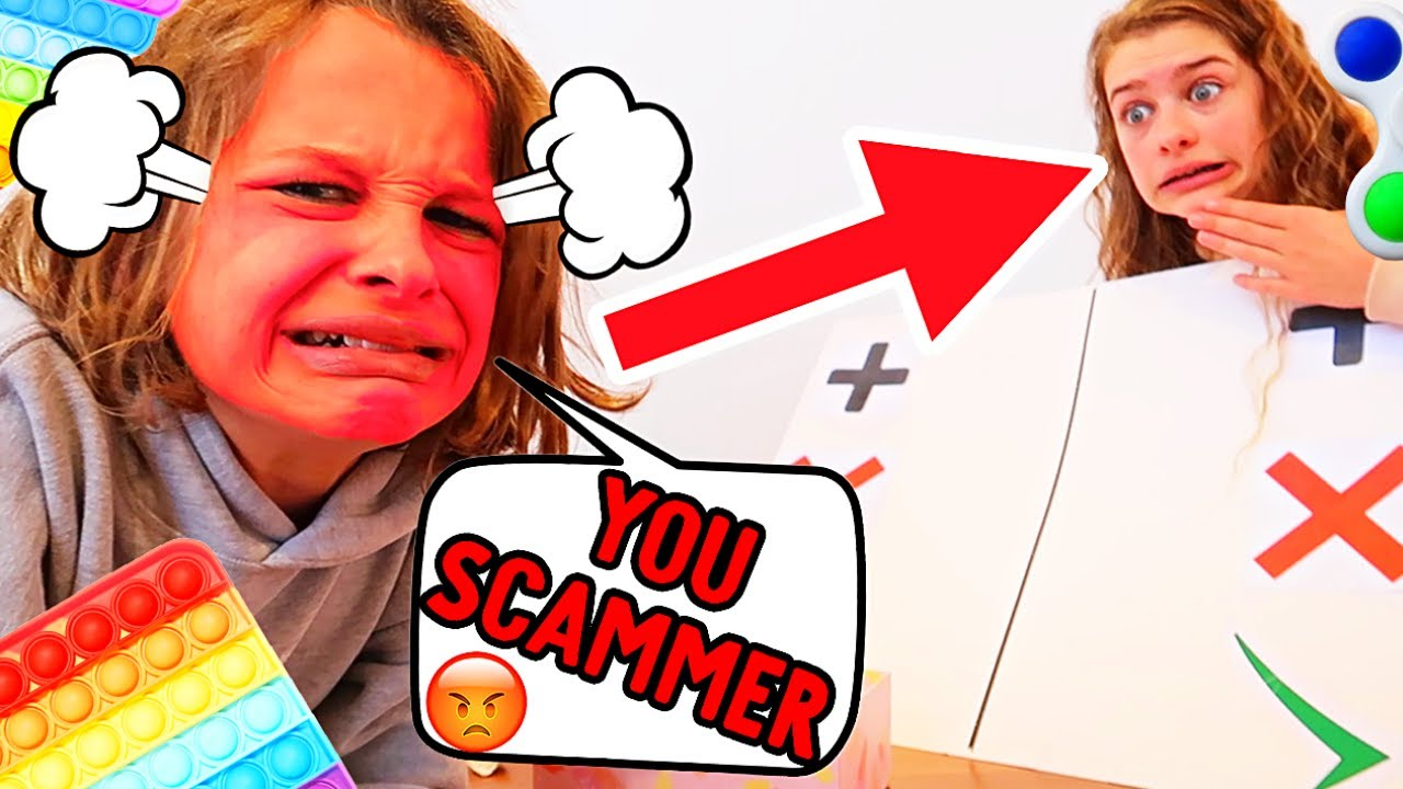 SOCKIE SCAMS BIGGY in FIDGET TRADE IF YOU RAGE - Gaming w/ The Norris Nuts