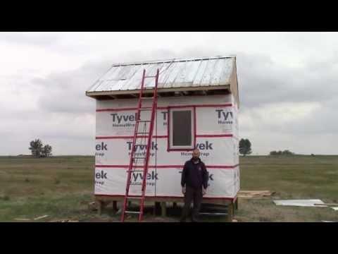 Chicken Coop Build - Tin Roof
