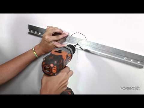 Installing a Wall Hung Vanity