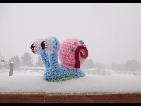 Amigurumi Crochet Gary the Snail