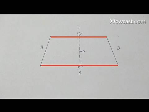 How to Determine the Area of a Trapezoid