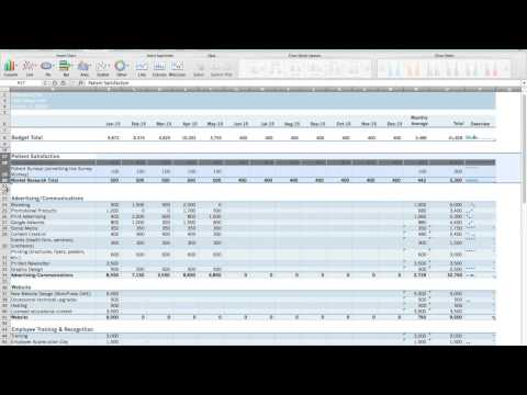 Tutorial | How to Set Up a Marketing Budget Without Excel Knowledge