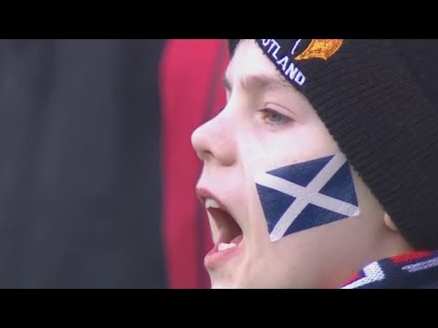 Anthems - Scotland vs France [Six Nations Rd2 2018]