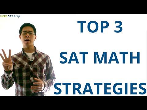 3 SAT Math Strategies to Raise Your SAT Score