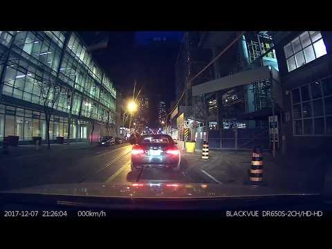 close call Beck Taxi Vs BMW Toronto