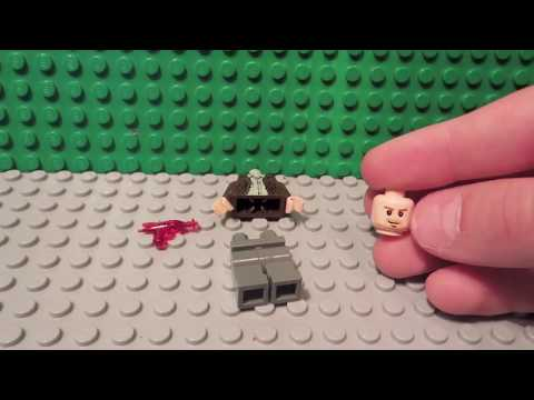 How to make Lego ''Mob of the Dead'' customs