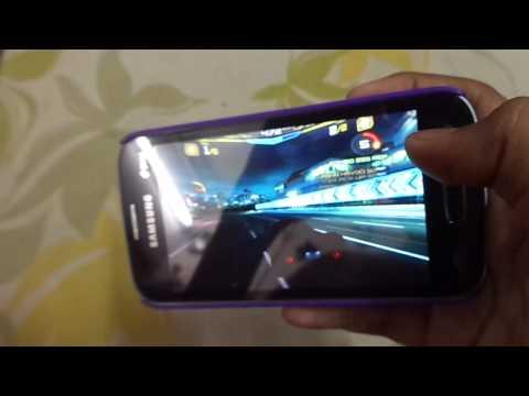 (continued) Asphalt 7 Heat gameplay on Samsung Galaxy Star Pro