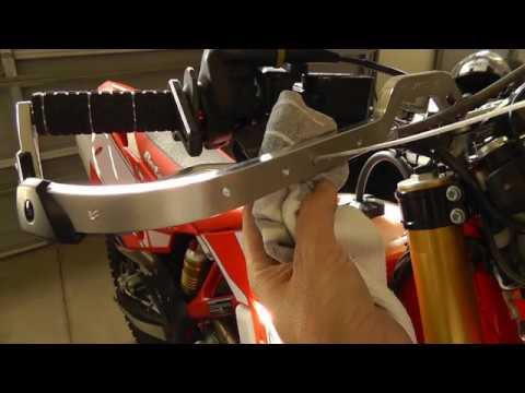 How to Install Zeta Handshields with Turn Signals on a 2017 Beta 390RRS