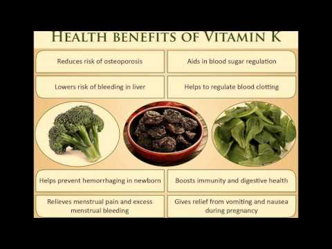 Get Vitamin K from Kale (Dark Green Leafy Vegetables)