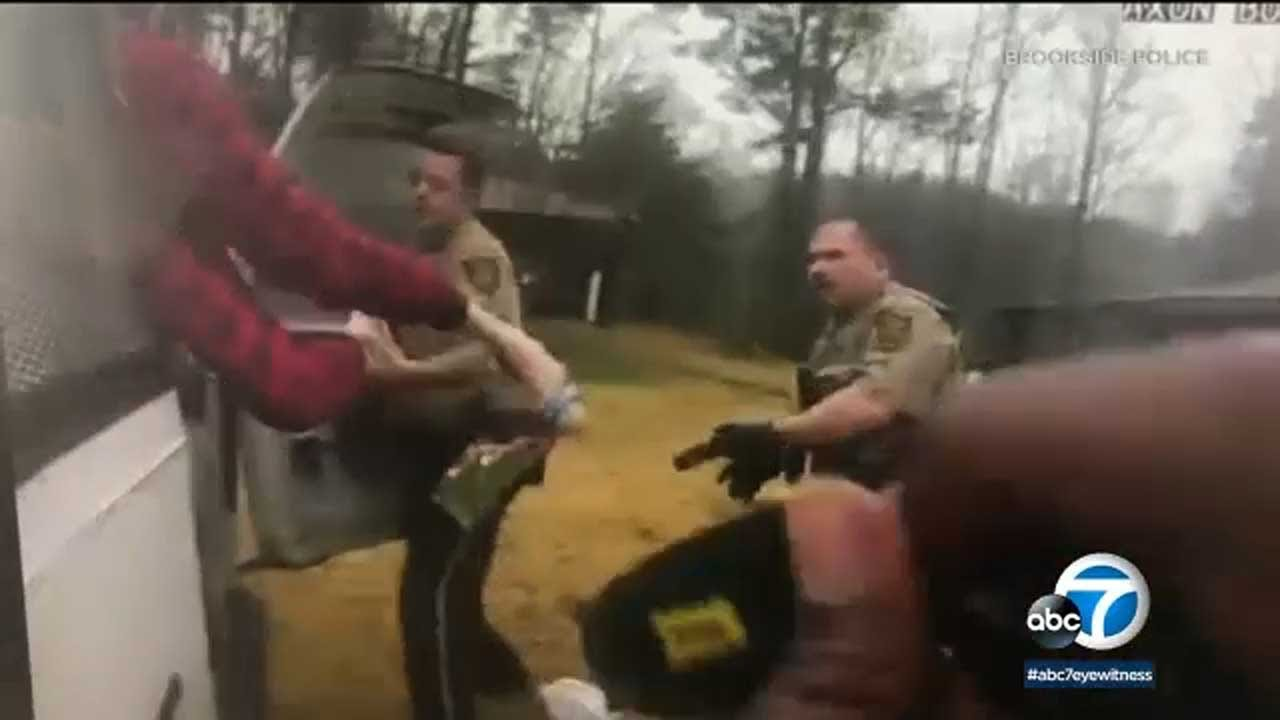 Alabama police rescue kidnapped woman from cage in van, use Taser on suspect I ABC7