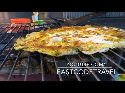 Grilled rice paper with egg | Banh Trang Nuong|  Da Lat | Vietnamese street food