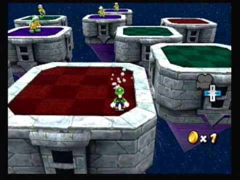 Super Mario Galaxy 2 Custom Level  Challenging Trials Galaxy (Star 1, Early WIP)