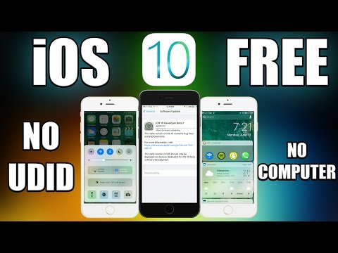 How to Install iOS 10 Beta FREE No Computer/UDID -iPhone, iPad & iPod Touch