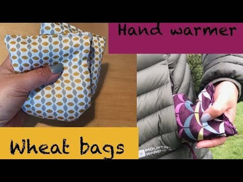 DIY wheat pack Hand Warmers