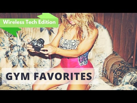 BEST WIRELESS HEADPHONE REVIEW! - This months gym favorites