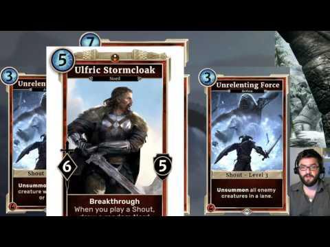 LOTS of new Heroes of Skyrim Cards revealed! | Elder Scrolls Legends