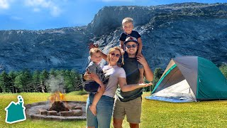 Download Camping in Yosemite National Park for 24 Hours!! ⛺️ Video