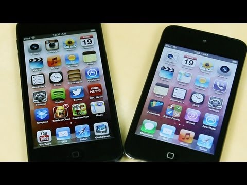 Apple iPod Touch 5th Gen vs 4th Gen Comparison