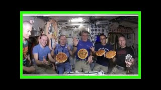 This Is What A Pizza Party Looks Like In Space