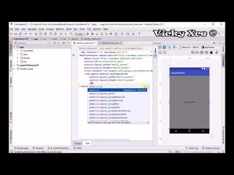 Learn How to Detect Color OpenCv Android Tutorial